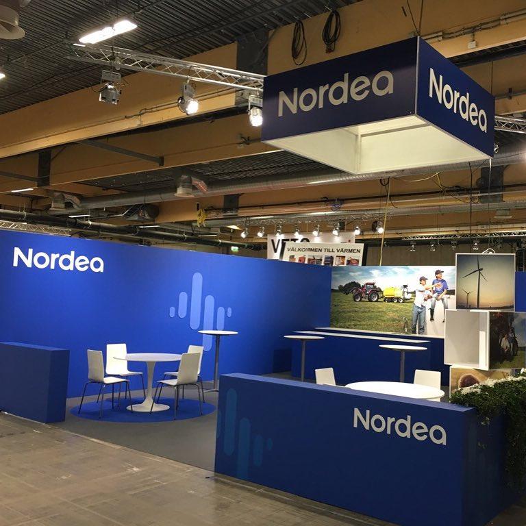 Bygg av Nordeamonter i Jönköping. #expoimage #nordea
