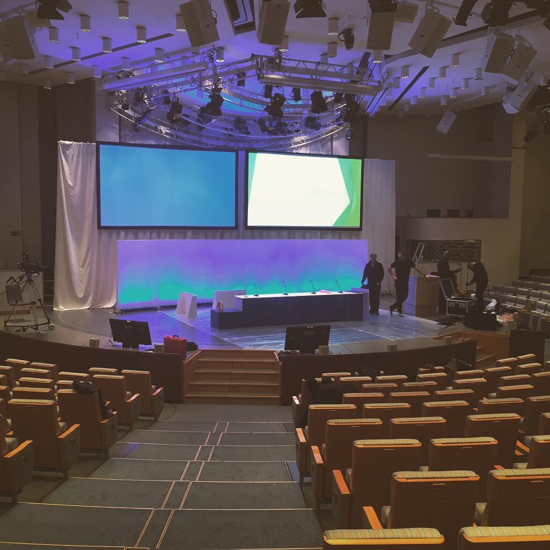 Sista förberedelserna inför Nordeas bolagsstämma! #nordea @informationsteknik #expoimage