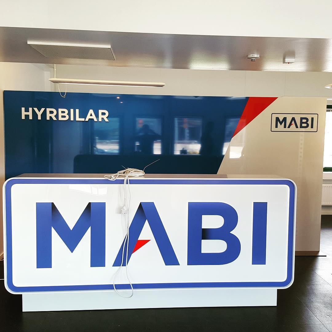 Det börjar närma sig klart på Mabi hyrbilar Landvetter. #expoimage @mabihyrbilarboras #mabihyrbilar #mabisverige