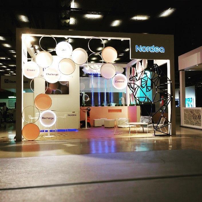 Nordea Eurofinance Barcelona @nordea_sverige  #expoimage