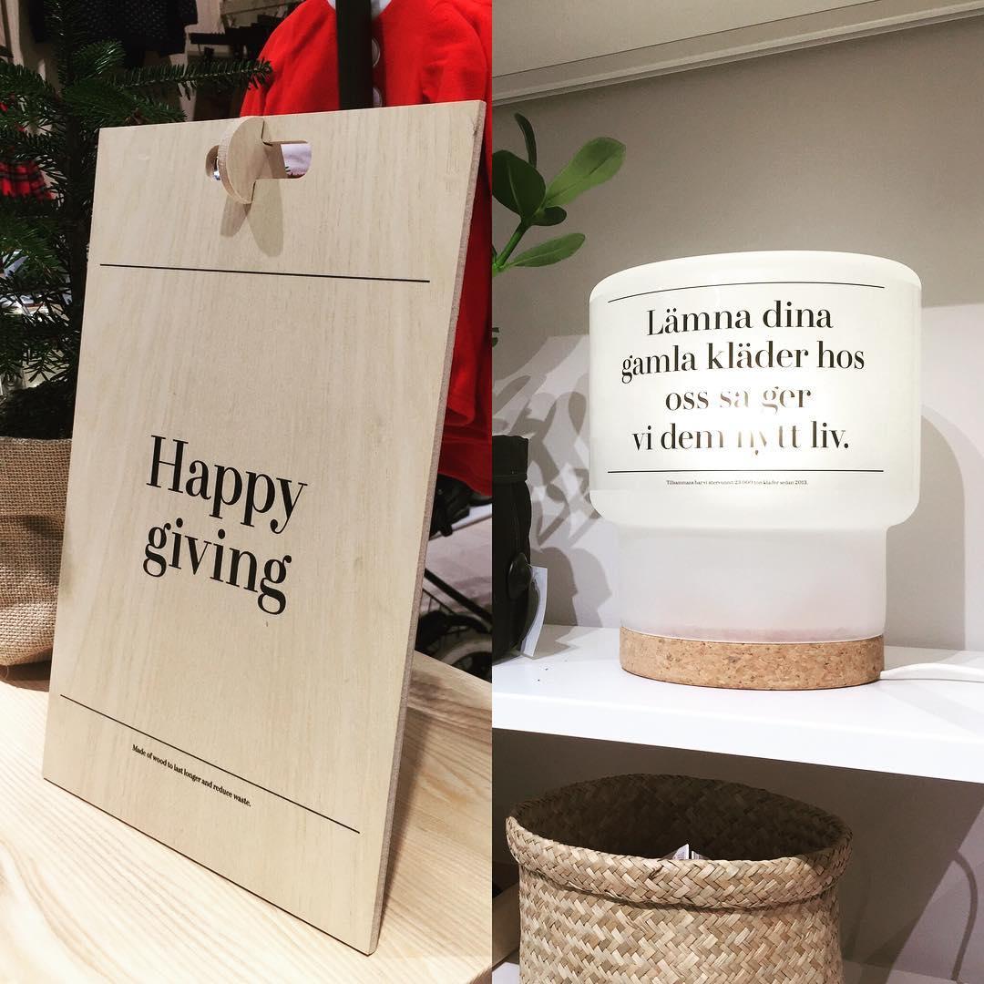 Kul att få vara med i H&M projektet. Butiken blev riktigt snygg ????@garbergs_project #expoimage