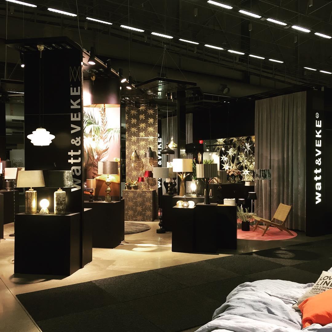 Nu är Formex igång och Watt & Veke likaså. I år har vi gjort bygg och dekor i samarbete med @jan.rundgren #stockholmsmässan #expoimage #wattochveke